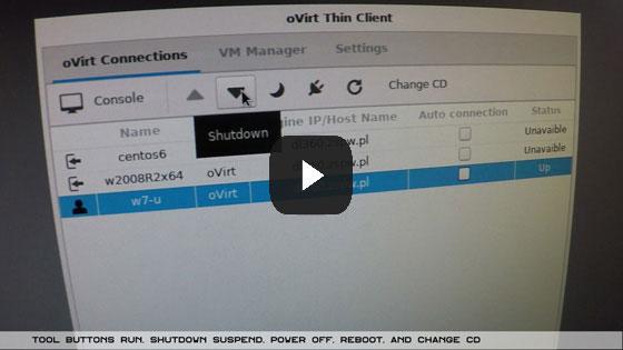 Ovirt Client - oVirt Thin Client - Red Hat VDI Client
